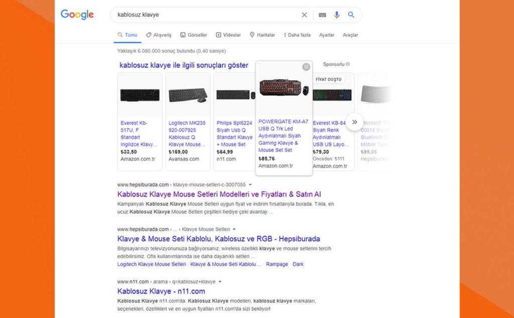Google Anahtar Kelimelere Odaklanır